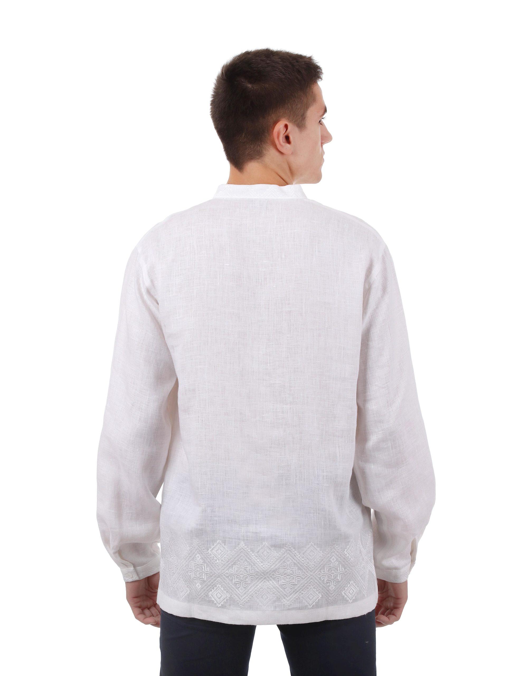 Вишиванка «Петриківка» (біла)