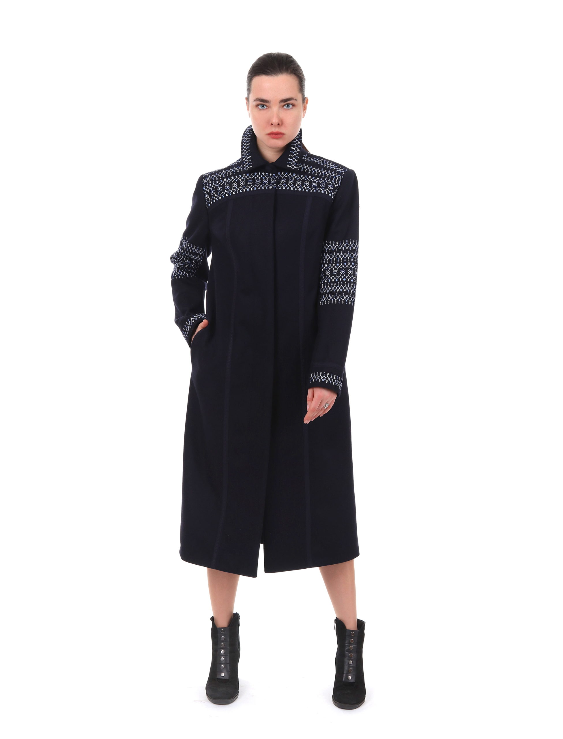 Пальто жіноче «Мереживо любові»