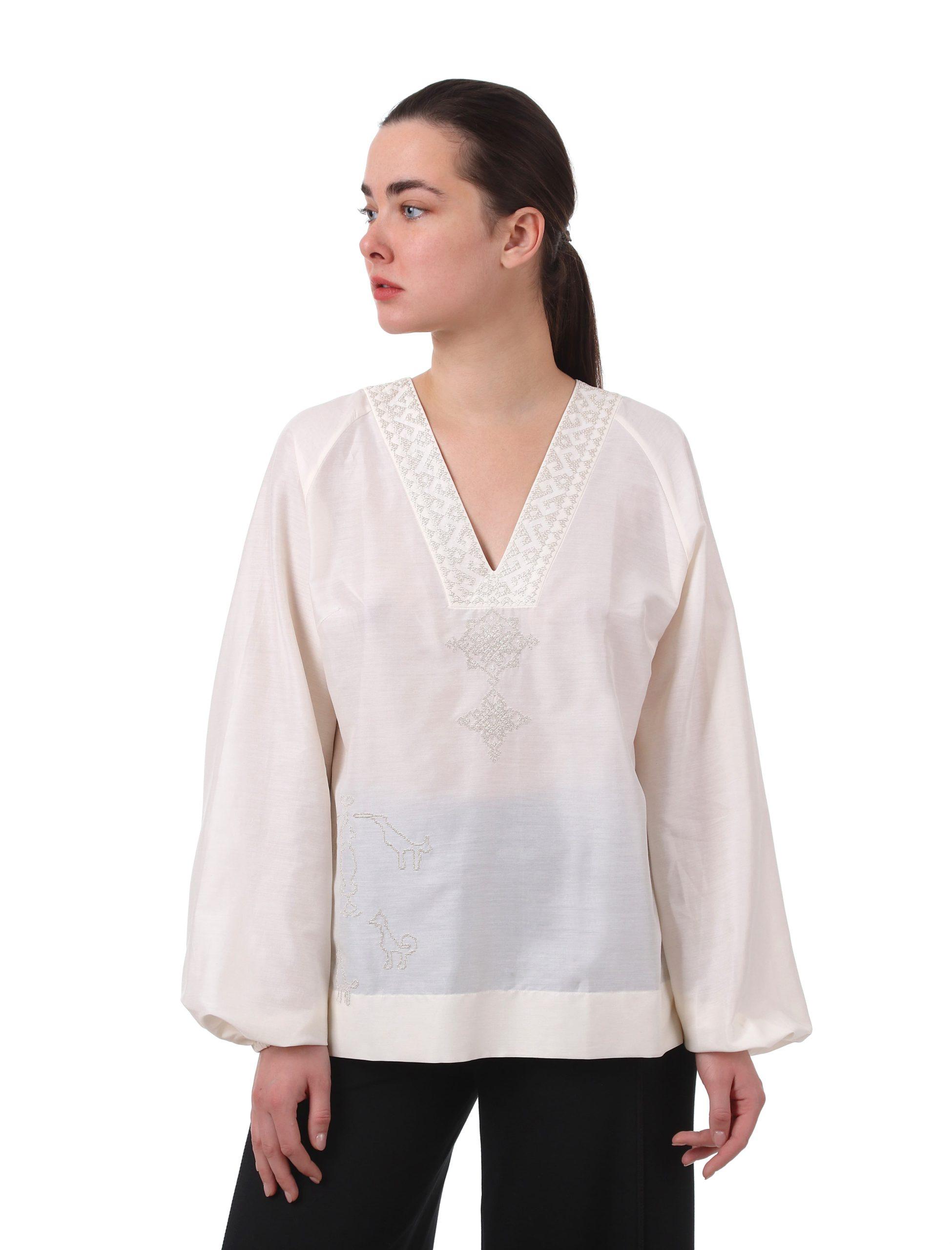 Блуза з вишивкою «Сарматський міф»