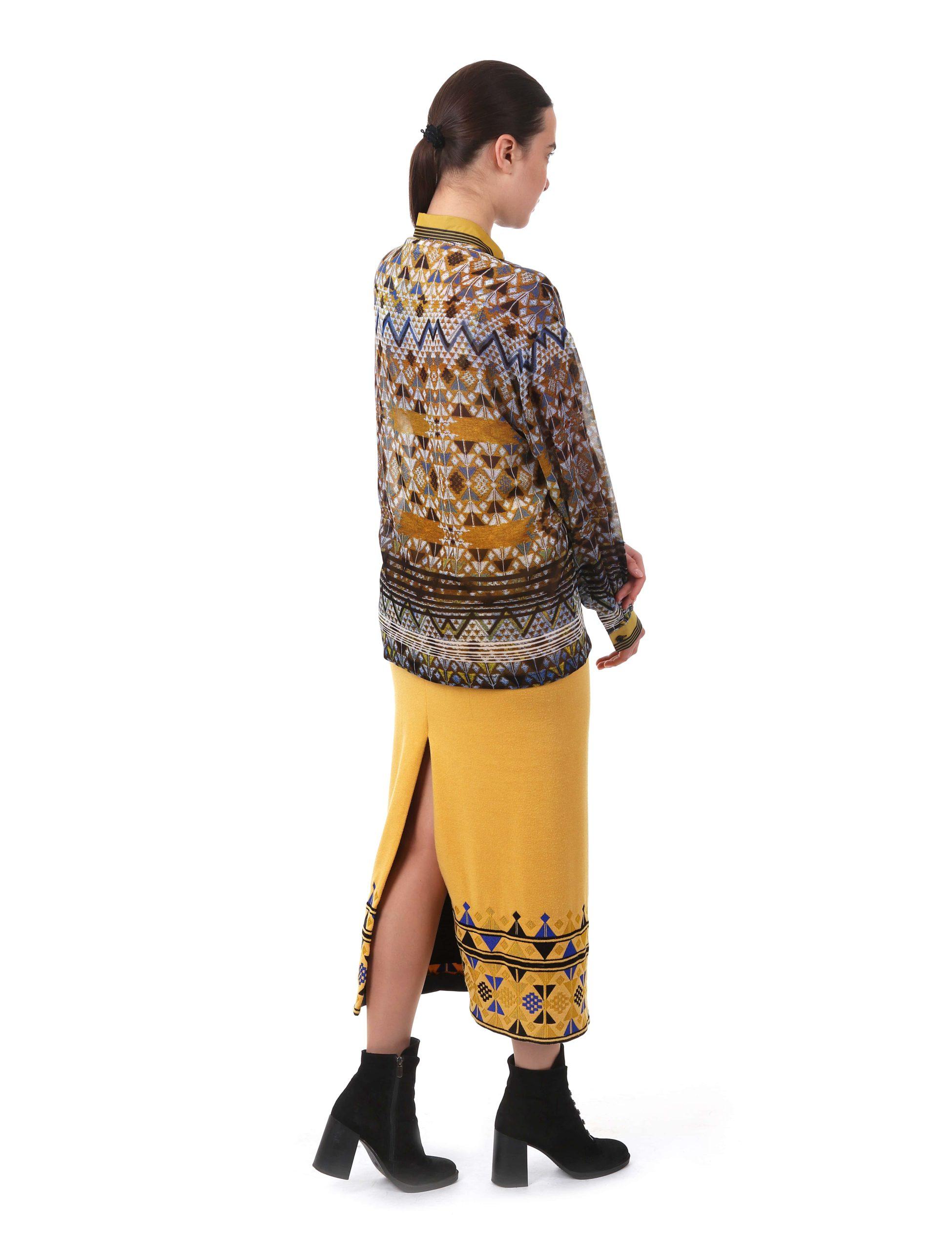 Спідниця з вишивкою «Печатка Історії»