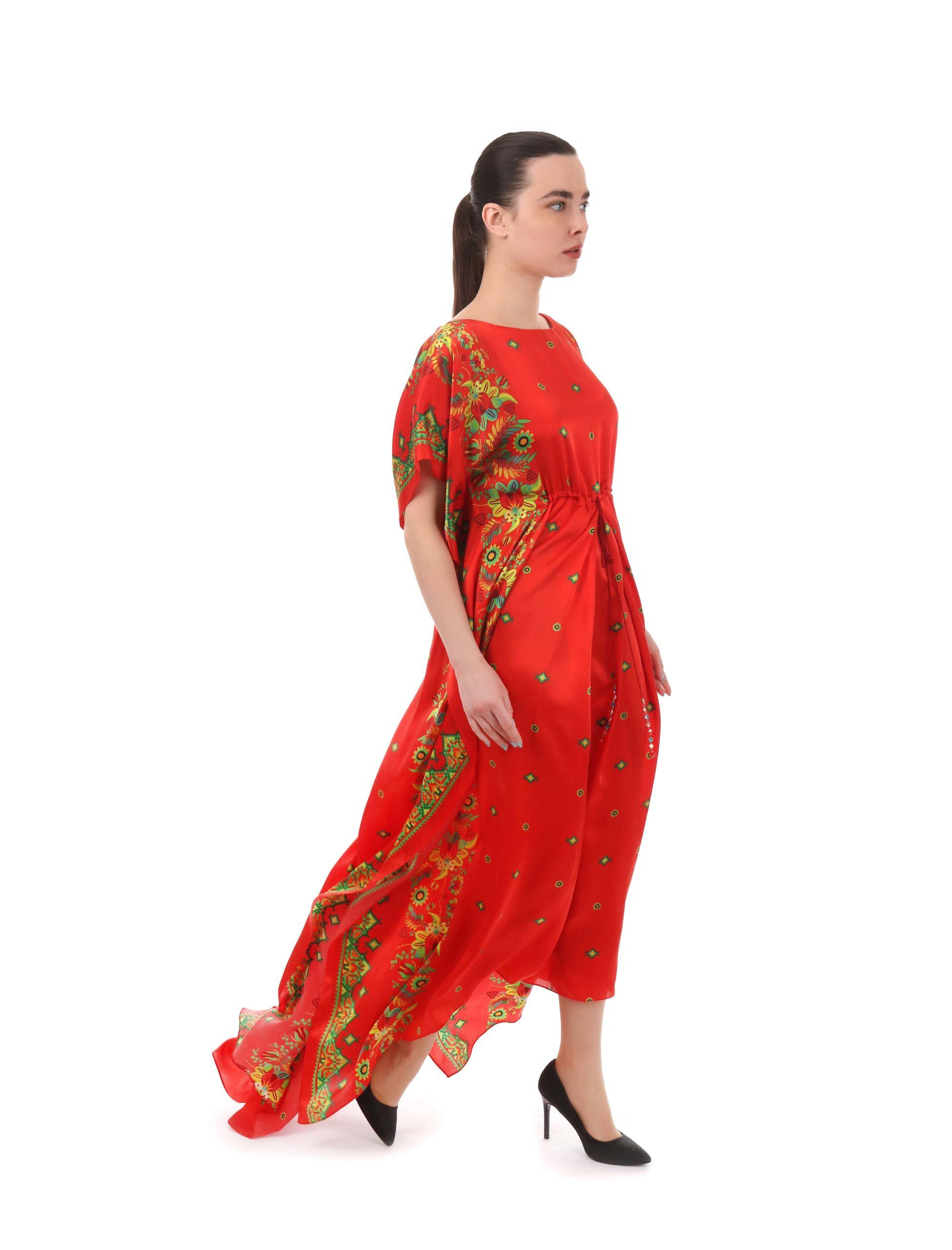 Сукня з авторським принтом «Петриківка»