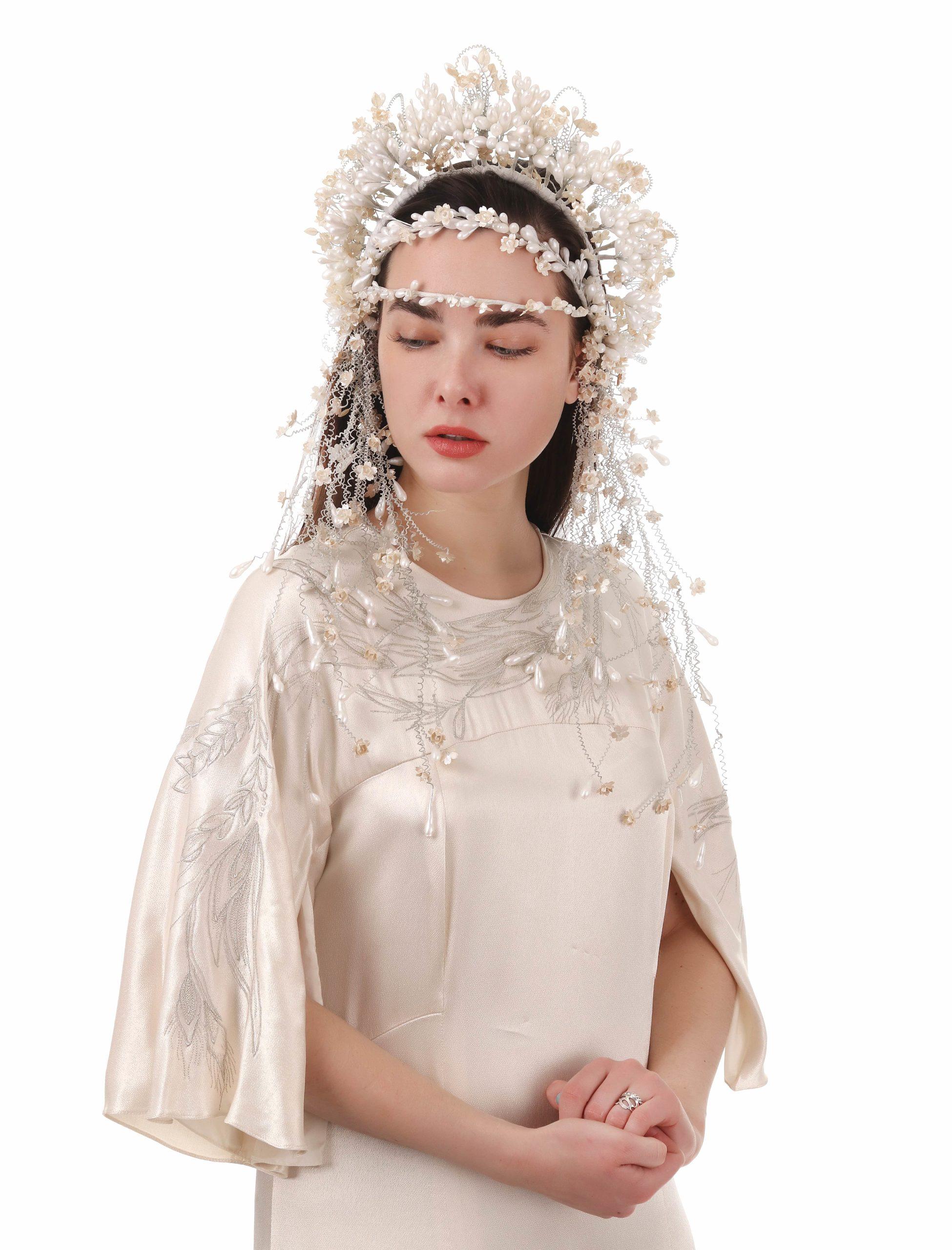 Весільний вінок восковий