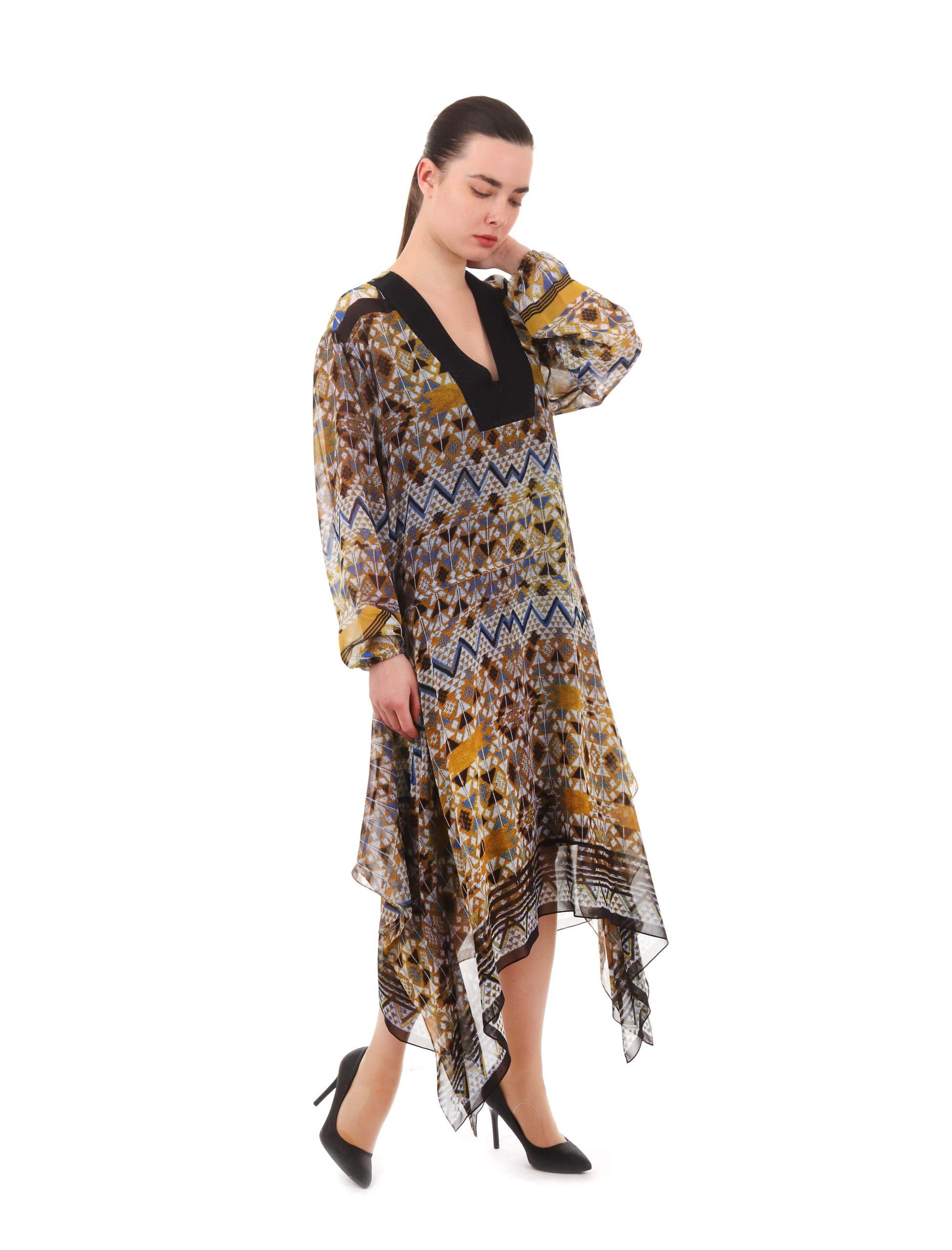 Сукня кольорова «Сяйво» вільного крою