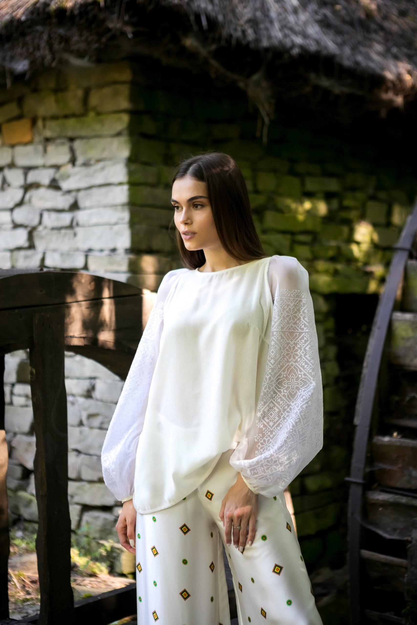Блуза з вишивкою «Мелодія для двох»